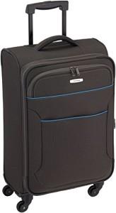 Koffer mit Rollen - Travelite Koffer Derby 4-rad Trolley M, Anthrazit 67 cm 62 Liters Grau