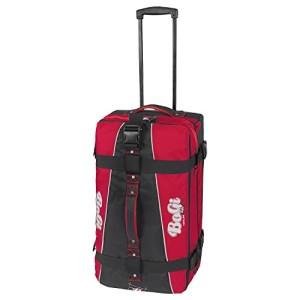 Reisetasche mit Rollen - BoGi Bag Reisetrolley, Tasche Rot/Schwarz 85 Liter