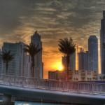 Reisetasche mit Rollen - Orient - Sonnenuntergang