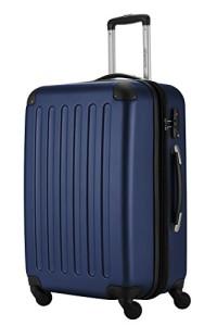 Koffer mit Rollen - HAUPTSTADTKOFFER · Koffer Spree Trolley Gepäck Hartschale, 65 cm, 82 Liter, matt, Dunkelblau