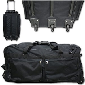 Sporttasche mit Rollen - XXXL Reisetasche 160L Sporttasche Trolley XXL Jumbo mit 3 Rollen Tasche Koffer